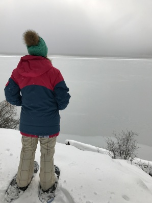 Snow Shoeing at Diamond Lake