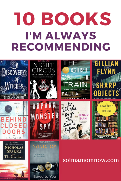 10 Books I Am Always Recommending